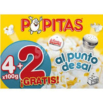 Popitas Borges Borges 6x100 Gr