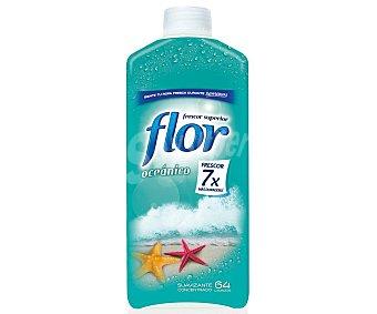 Flor Suavizante concentrado con aroma oceánico 1472 mililitros
