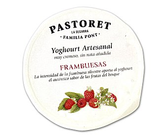 Pastoret Yogur con frambuesas Envase 125 g