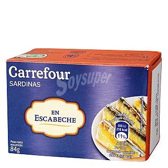 Carrefour Sardinas en escabeche 84 g