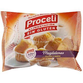 Proceli Muffins sin gluten Bolsa 160 gr