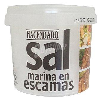Hacendado Sal marina en escamas Bote 175 g