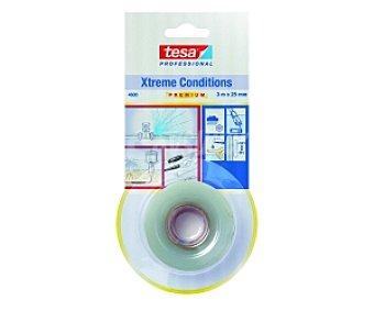 Tesa Cinta transparente adhesiva Xtrema Conditions 3 Metros x 25 Milímetros