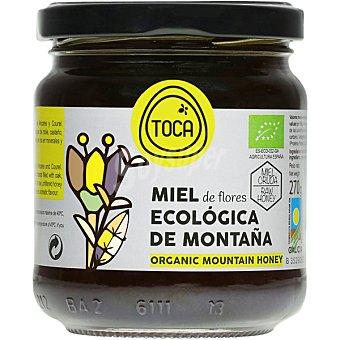 TOCA miel de flores ecológica de montaña tarro 270 g
