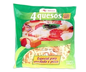 ABIBERICA Queso rallado 4 quesos 150g