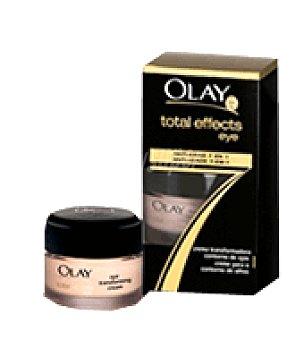 Olay Contorno de ojos total effects con toque de corrector 15 ml