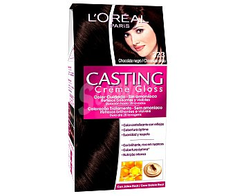 L'Oréal Tinte chocolate negro nº323 1 unidad