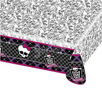 LIRAGRAM Mantel plastico decorado Monster High 120 x 180 cm