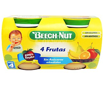 Beech-Nut Tarrito de pera, naranja y miel 2 unidades de 130 gramos
