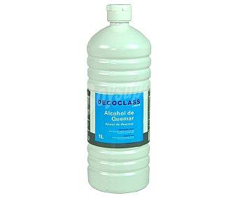 DECOCLASS Botella de alcohol de quemar 1 Litro