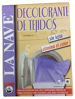 La Nave Tinte ropa decolorante tejido Caja 2 sobres