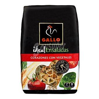 Gallo Pasta ensalada corazones vegetales 500 g
