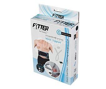 Fytter Cinturon lumbar para musculación de color negro y nivel principiante 1 Unidad