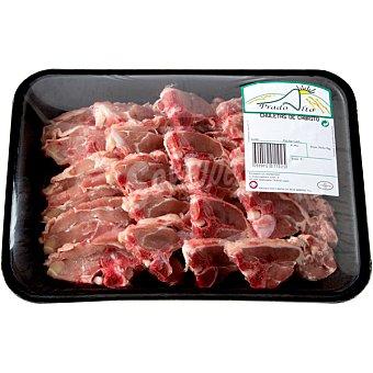 Chuletas de cabrito peso aproximado Bandeja 500 g