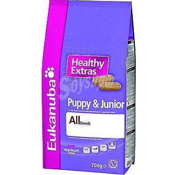 EUKANUBA HEALTHY EXTRAS Puppy & Junior Galletas para cachorros Paquete 700 g