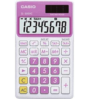 Casio Calculadora SL300 rosa casio