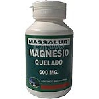 MASSALUD Magnesio quelado 600 mg Envase 300 unidades