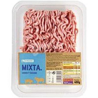 Eroski Picada de cerdo-vacuno burger meat Bandeja 400 g