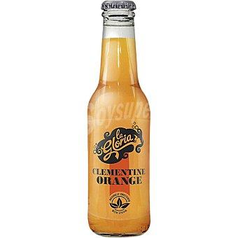 LA GLORIA Refresco Premium de naranja y clementina con stevia  botella 20 cl