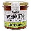 Migas de atún en piperrada Tunakitos sin gluten 155 G 155 g Zallo