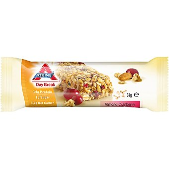 ATKINS DAY BREAK Barrita de almendras y arándanos Envase 37 g