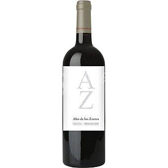 Alto de los zorros vino tinto crianza tempranillo D.O. Ribera del Duero botella 75 cl