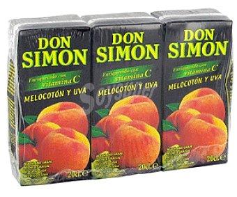 Don Simón Zumo de Melocotón y Uva 3x20cl
