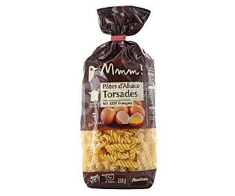 Auchan Pasta Fusilli al huevo Paquete de 250 grs