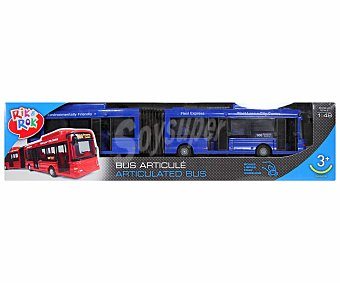 Rik&Rok Auchan Autobús Articulado 1 Unidad