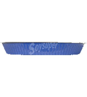 Carrefour Molde rizado 28 cm. azul