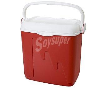 Curver Nevera rígida modelo Pop, con capacidad de 20 litros y fabricada en polipropileno de color rojo, medidas: 42.8x26.5x39.6 centímetros 1 unidad