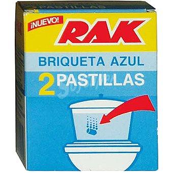 Rak Desinfectante WC en pastillas Paquete 2 unidades