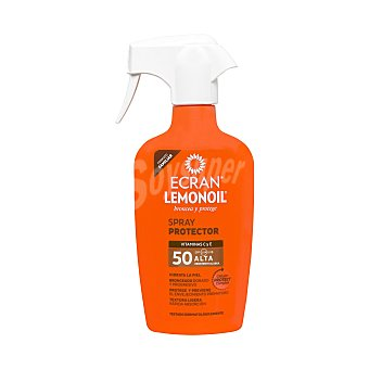 Ecran Aftersun Sun spray solar protector spf 30 pistola 300 ml