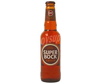 Superbock Cerveza portuguesa tipo abadía Botella de 33 centilitros