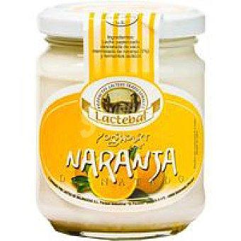 Lactebal Yogur desnatado de naranja Tarro 200 g