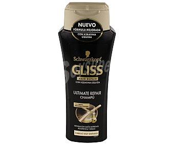 Gliss Schwarzkopf Champú Ultimate Repair Botella de 250 ml