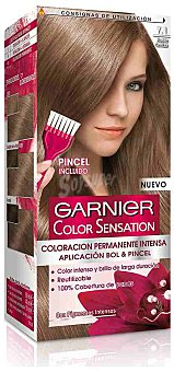 Garnier Coloración Permanente 7.1 Rubio Ceniza de Color Sensation 1 ud