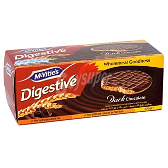 McVities Mcvitie's Digestive Chocolate Negro 300 gr