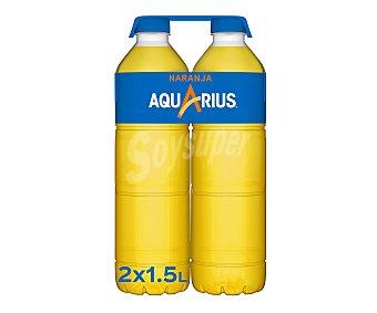 Aquarius Aquarius sabor naranja Pack 2 botellas 1,5 l