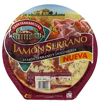 Casa Tarradellas Pizza de jamón serrano Envase 390 g