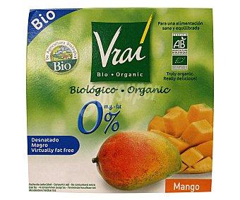 VRAI ECOLÓGICA Y.des.0%mango eco 4x100g 4x100g