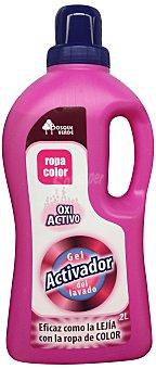 Bosque Verde Activador lavado liquido oxi activo (ropa color) Botella 2 l