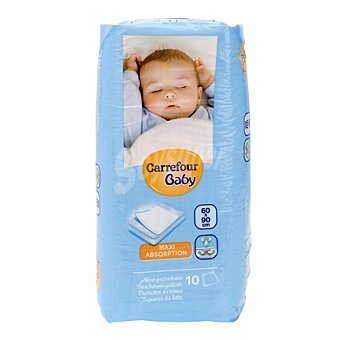 Carrefour Baby Protector de cama 60x90 cm. Carrefour Baby 10 ud