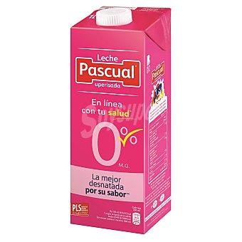 PASCUAL Leche desnatada 0% Materia Grasa envase 1 l