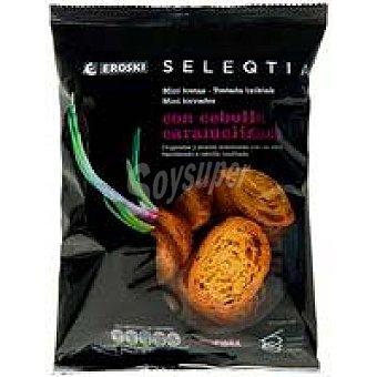 Eroski Seleqtia Minitosta cebolla caramel seleqtia 80 g
