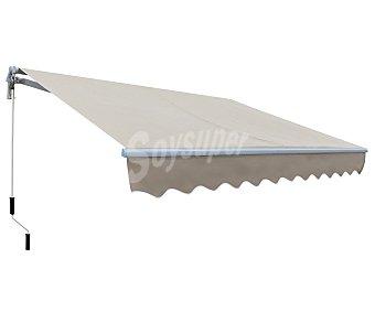 WOLDER Toldo modelo Smartsun, de poliester de 280 gramos, color beige y medidas de 3x2 metros 1 unidad