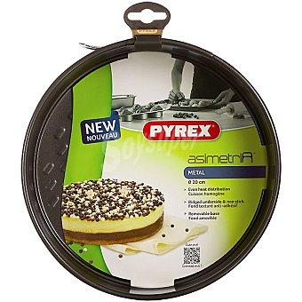 PYREX Asimetría Molde desmontable de metal 20 cm