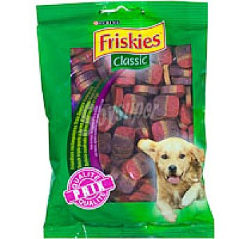 Purina Friskies Snack económico tricolor para perros Classic Paquete 100 g