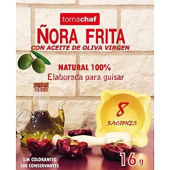 TOMACHAF Ñora frita con aceite de oliva 100% natural Envase 16 g