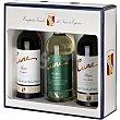 Vino tinto crianza D.O. Rioja Estuche 2 botellas 75 cl + regalo de vino blanco verdejo D.O. Rueda Estuche 2 botellas 75 cl Cune